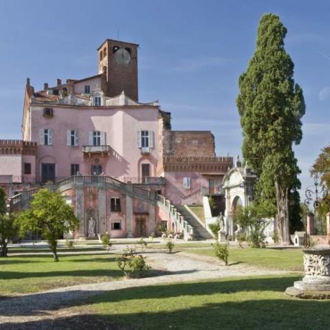 Saint George Castle in Monferrato