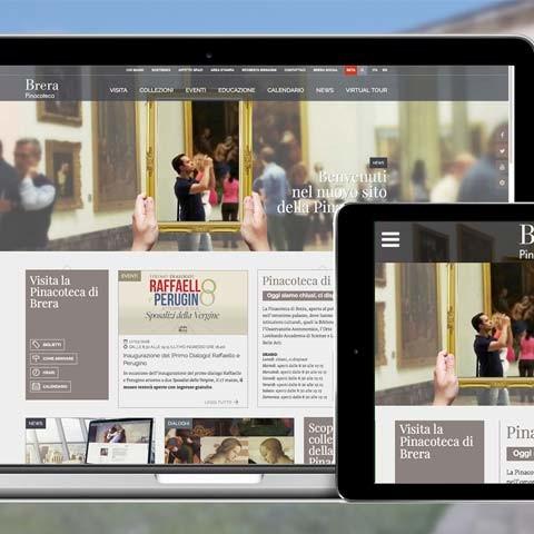 The Pinacoteca di Brera web site is on line!