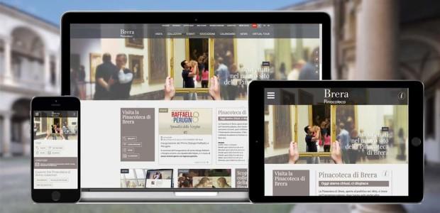 On line il sito nuovo della Pinacoteca di Brera!