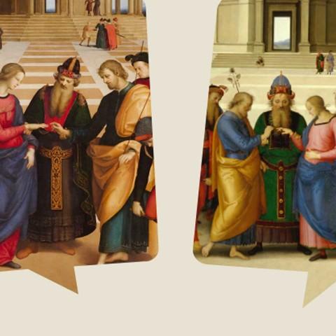 At Brera, Raphael and Perugino