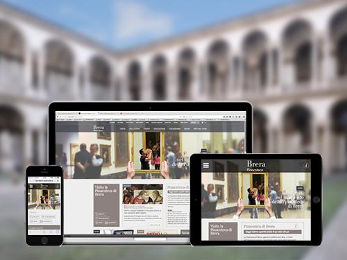 On line il nuovo sito della Pinacoteca di Brera!